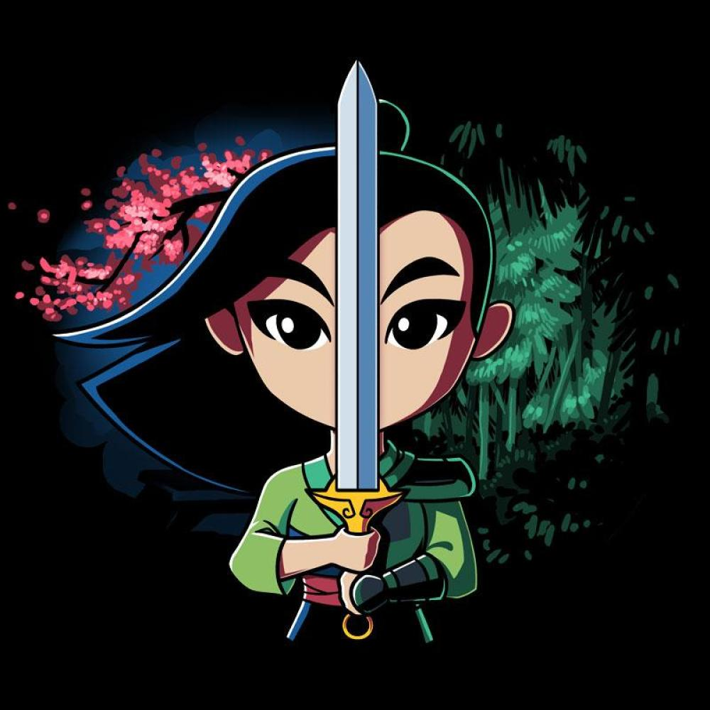 Double-Edged Sword T-Shirt Mulan TeeTurtle