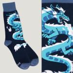 Blue Dragon Socks TeeTurtle