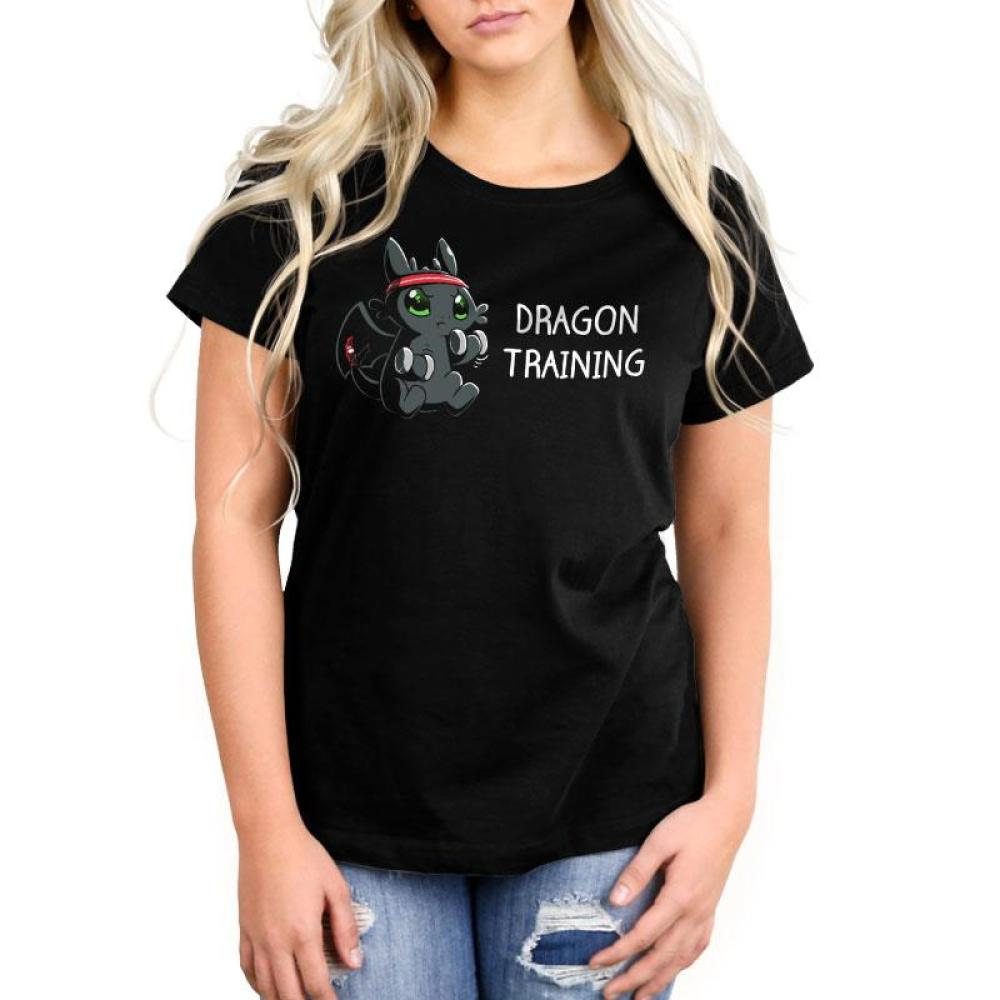Dragon Training Women's Relaxed Fit T-Shirt Model How To Train Your Dragon TeeTurtle