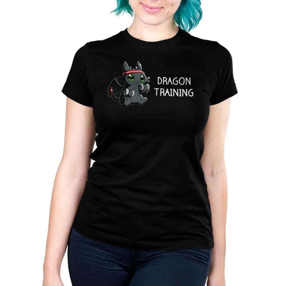 Dragon Training Women's Ultra Slim T-Shirt Model How To Train Your Dragon TeeTurtle