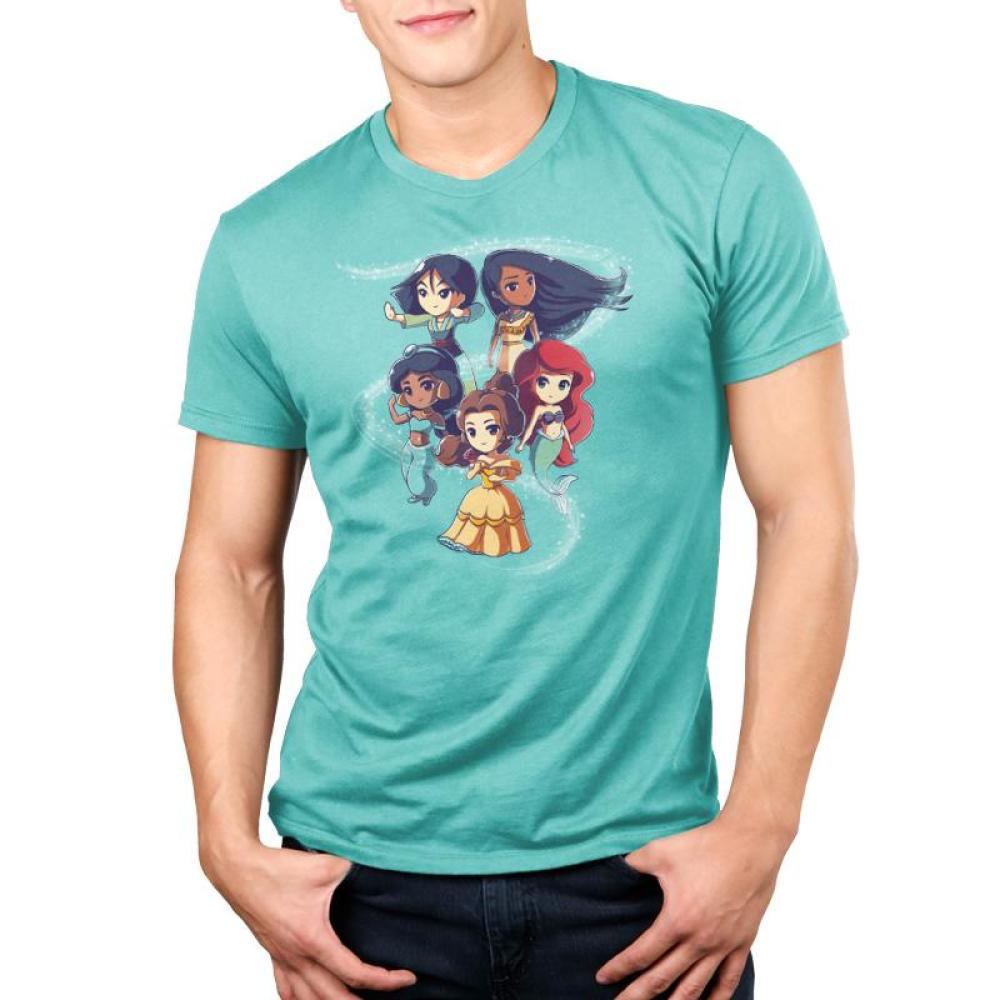 Enchanting Princesses Standard T-Shirt Model Disney TeeTurtle