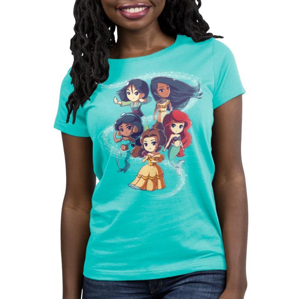 Enchanting Princesses Women's Relaxed Fit T-Shirt Model Disney TeeTurtle