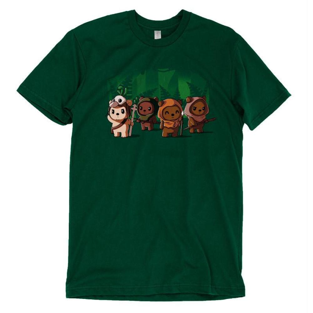 Ewoks T-Shirt Star Wars TeeTurtle