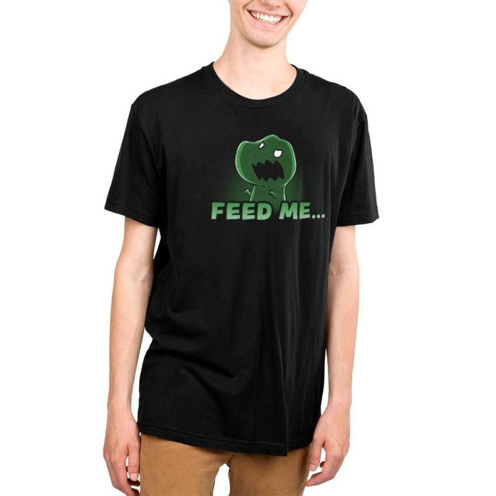 Feed Me... Or Else Men's T-Shirt Model TeeTurtle