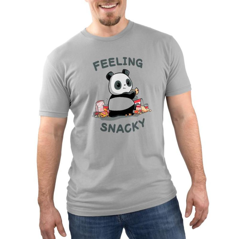 Feeling Snacky Men's T-Shirt Model TeeTurtle