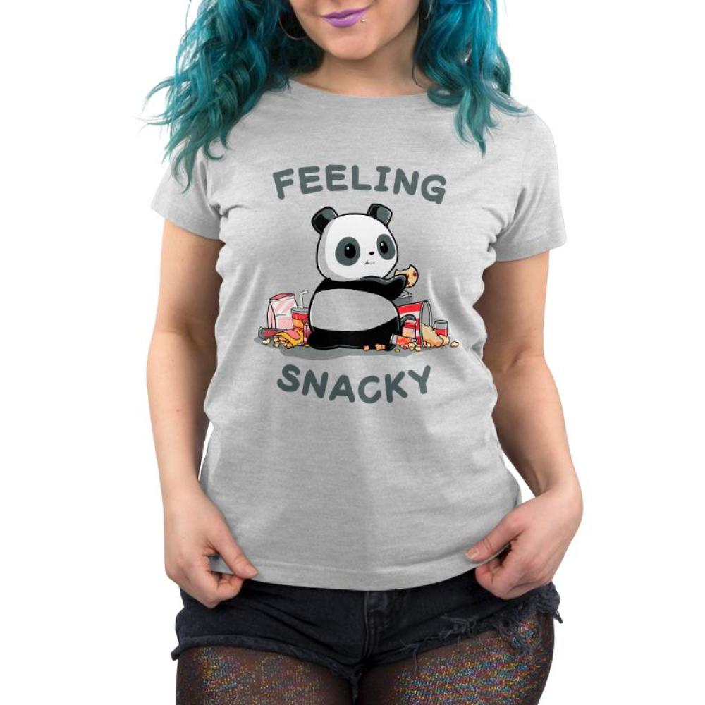 Feeling Snacky Women's T-Shirt Model TeeTurtle