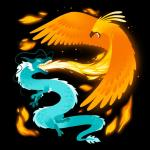 Fire and Ice T-Shirt TeeTurtle