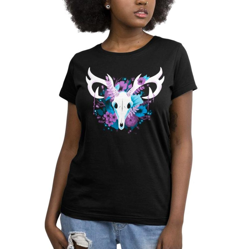 Flora and Fauna Women's T-Shirt Model TeeTurtle
