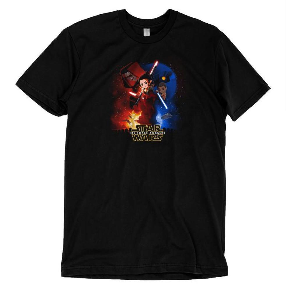 Star Wars: Episode VII - The Force Awakens T-Shirt Star Wars TeeTurtle