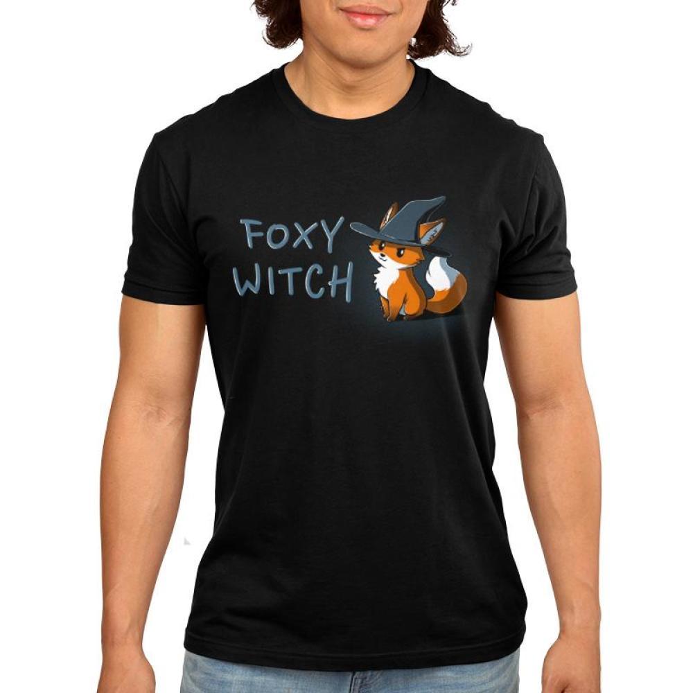 Foxy Witch Men's T-Shirt Model TeeTurtle