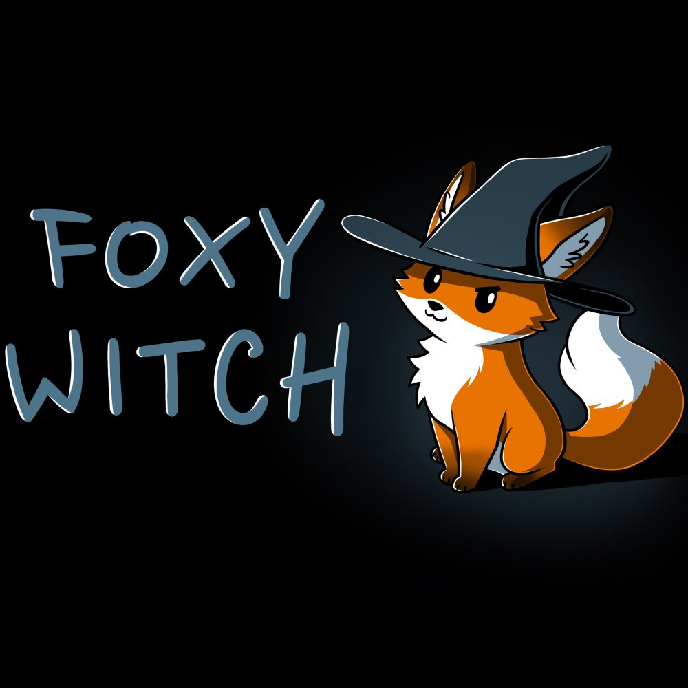 Foxy Witch T-Shirt TeeTurtle