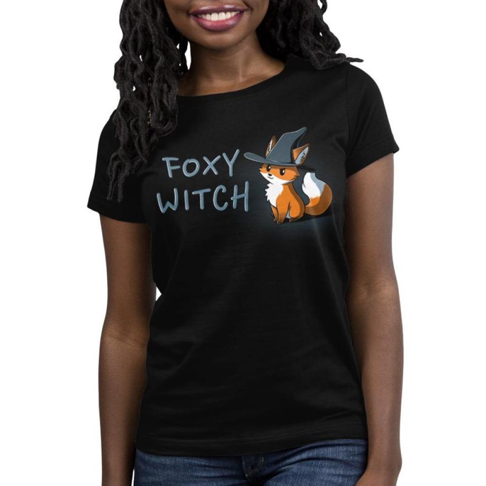Foxy Witch Women's T-Shirt Model TeeTurtle