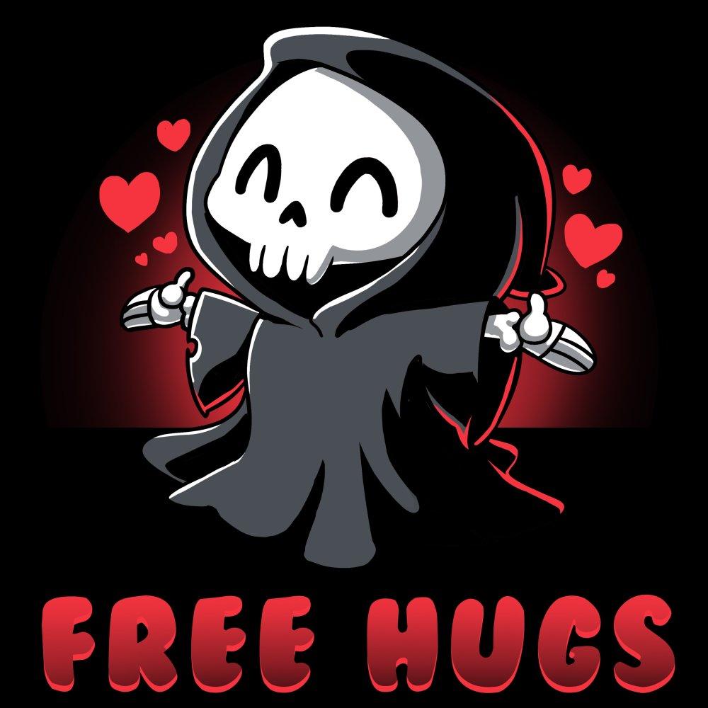 Free Hugs T-Shirt TeeTurtle