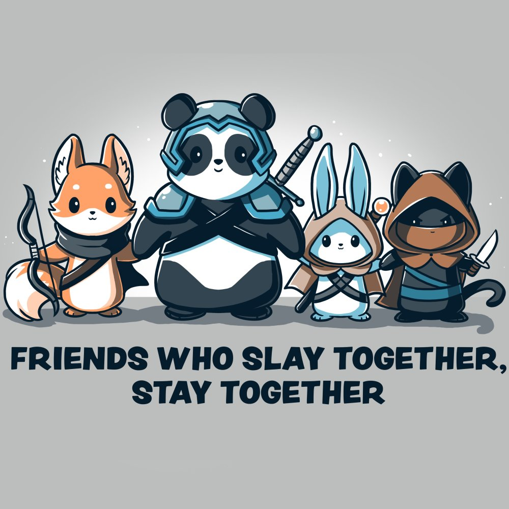 Friends Who Slay Together, Stay Together T-Shirt TeeTurtle