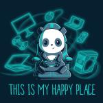 Gaming is My Happy Place T-Shirt TeeTurtle