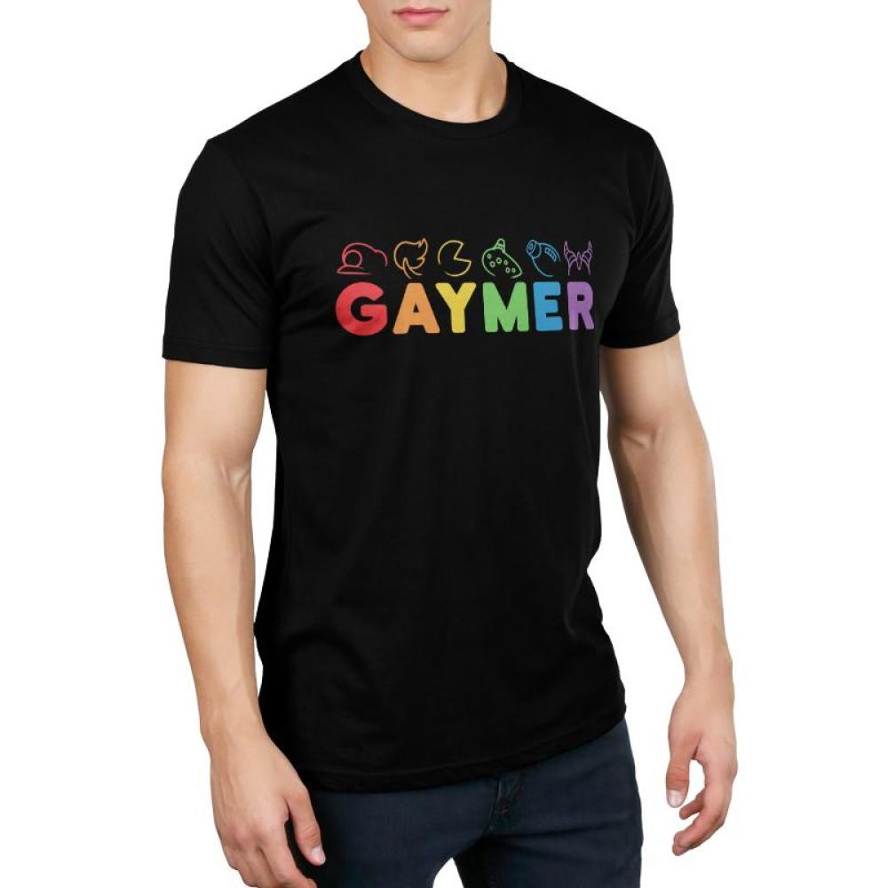 Gaymer Men's T-Shirt Model TeeTurtle