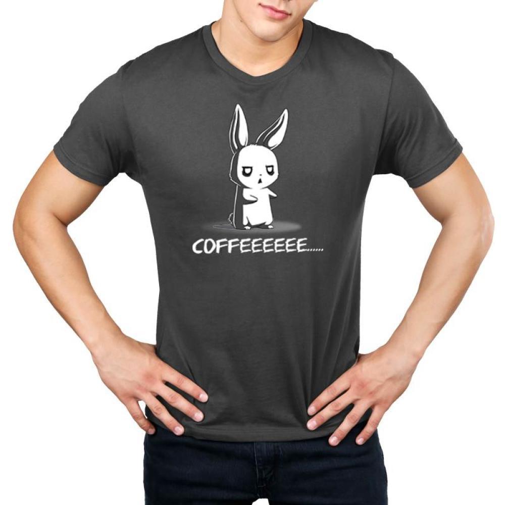 Give Me Coffee Men's T-Shirt Model TeeTurtle