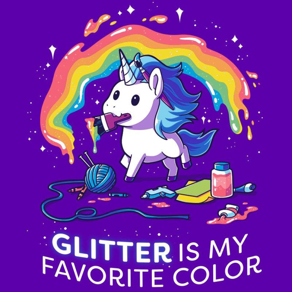 best sneakers 5da48 23e7d Glitter is My Favorite Color - T-Shirt / Mens / S