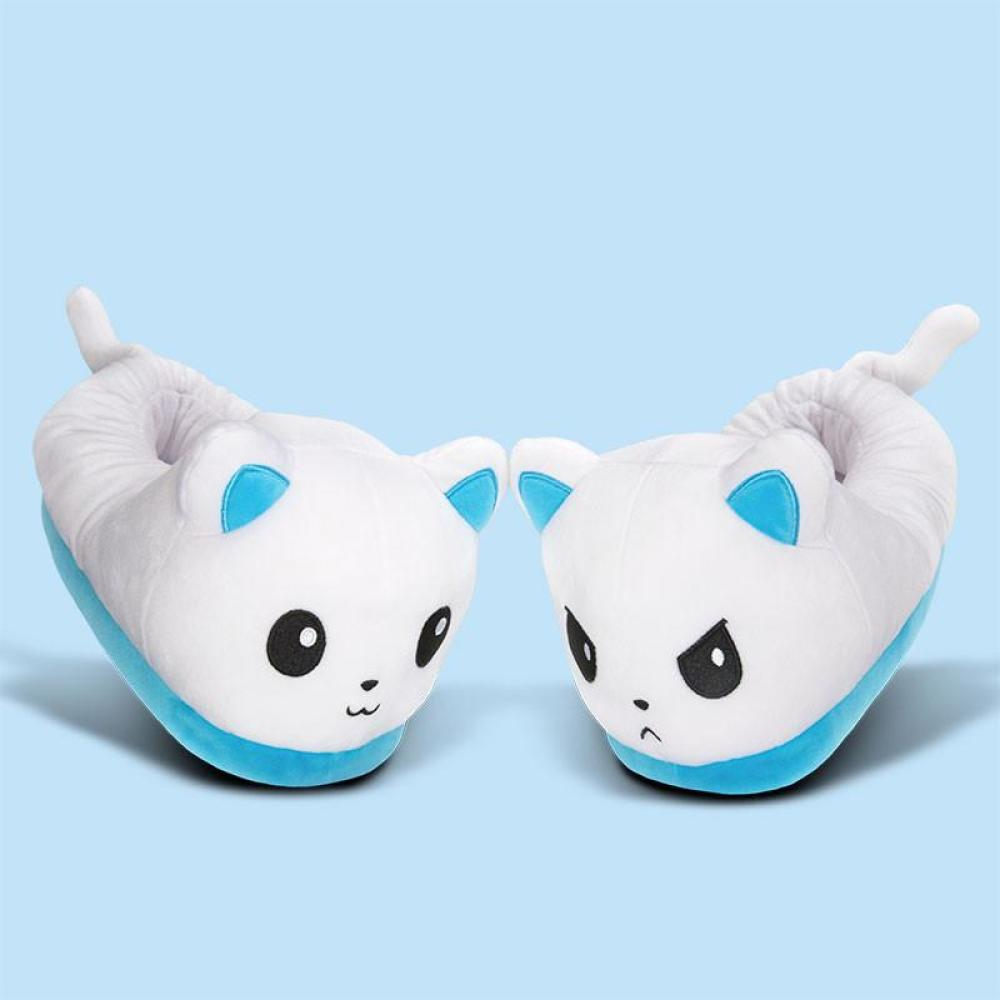 Good Cat Bad Cat Slippers TeeTurtle