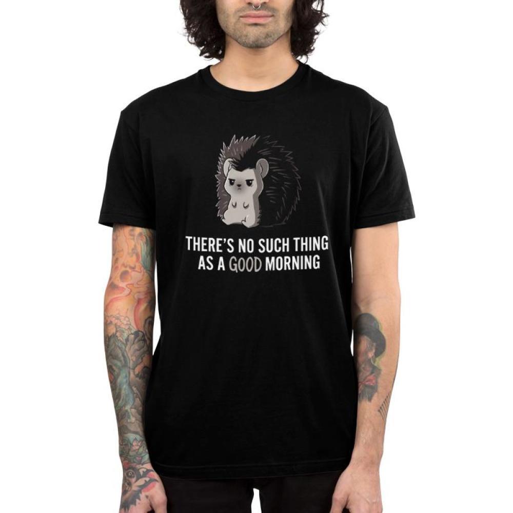Good Morning Men's T-Shirt Model TeeTurtle
