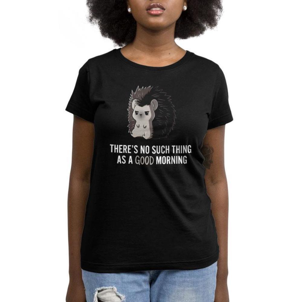 Good Morning Women's T-Shirt Model TeeTurtle