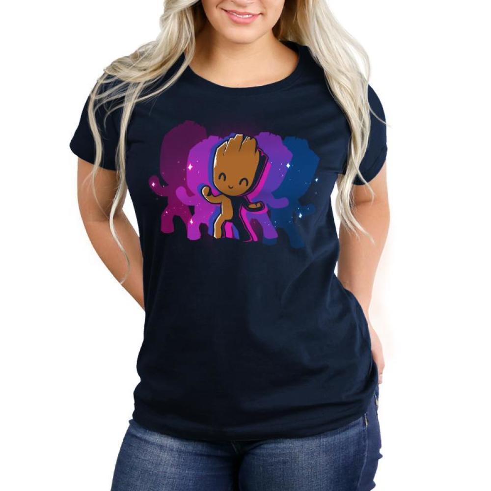 Dancing Groot Women's Relaxed Fit T-Shirt Model Marvel TeeTurtle