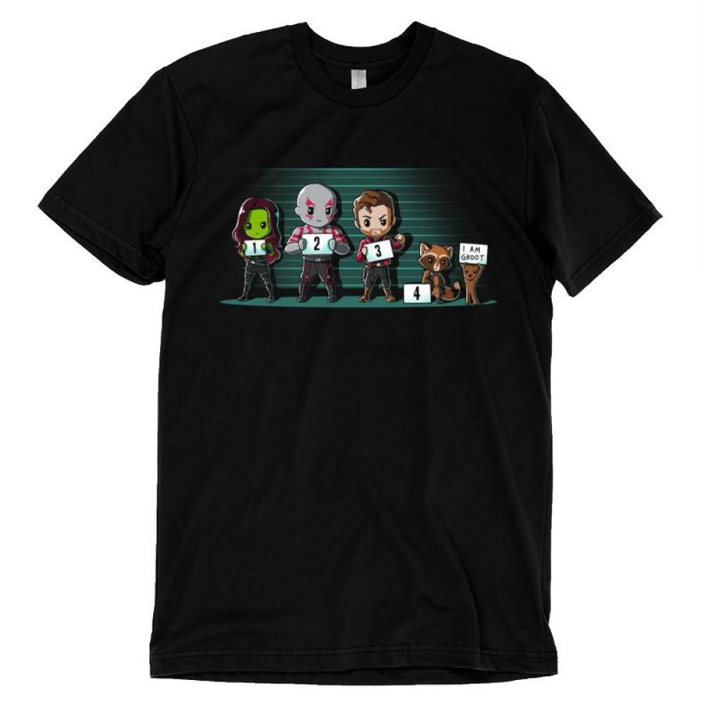 The Lineup T-Shirt Marvel TeeTurtle