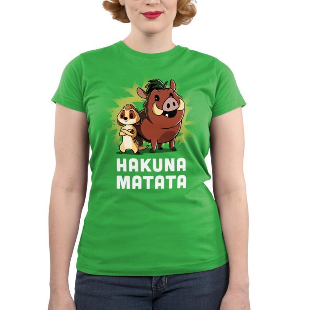 Hakuna Matata Juniors T-Shirt Model Disney TeeTurtle