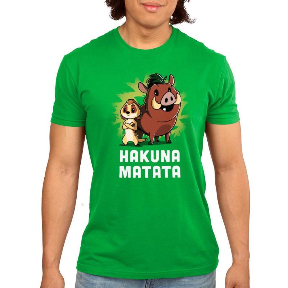 Hakuna Matata Men's T-Shirt Model Disney TeeTurtle