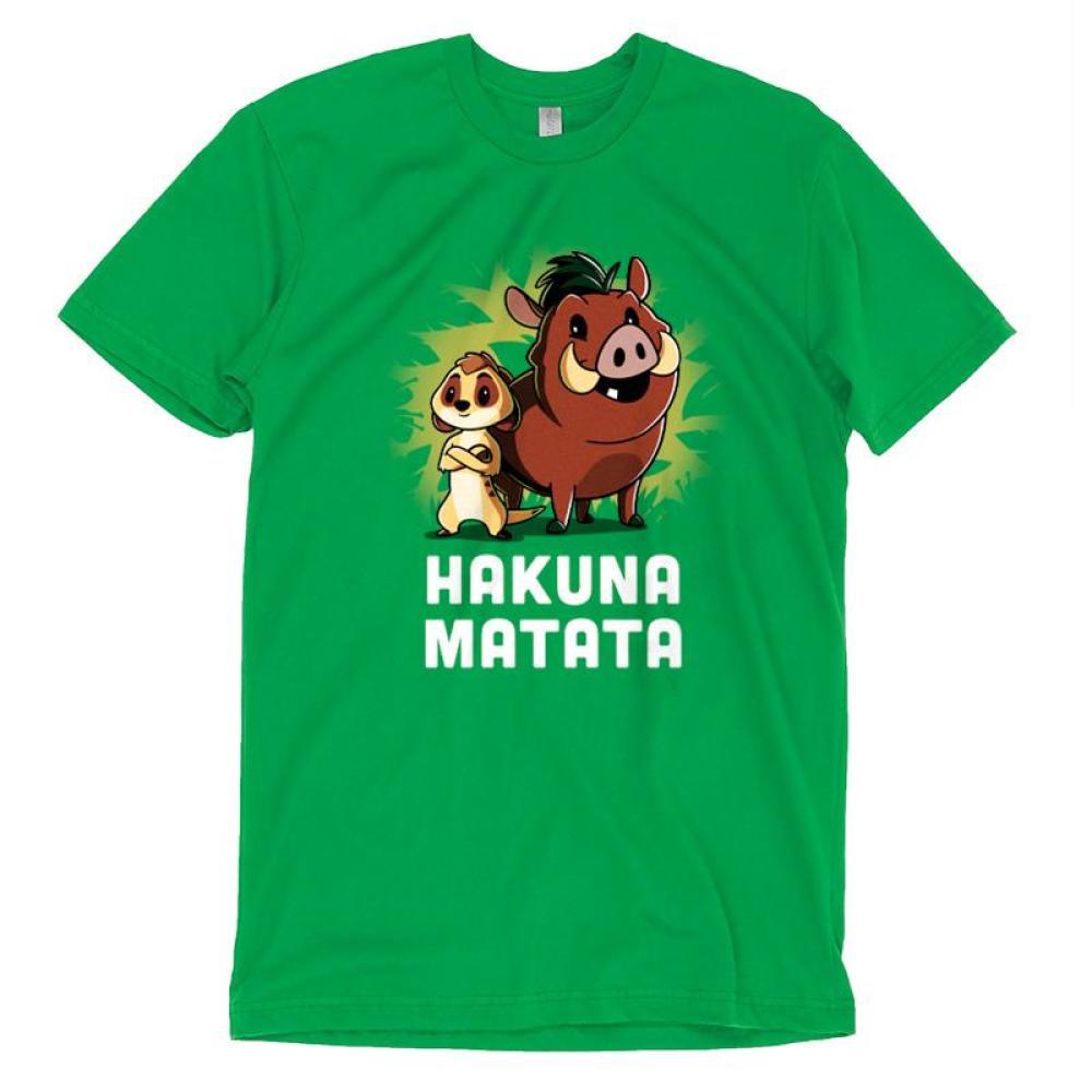 Hakuna Matata T-Shirt Disney TeeTurtle