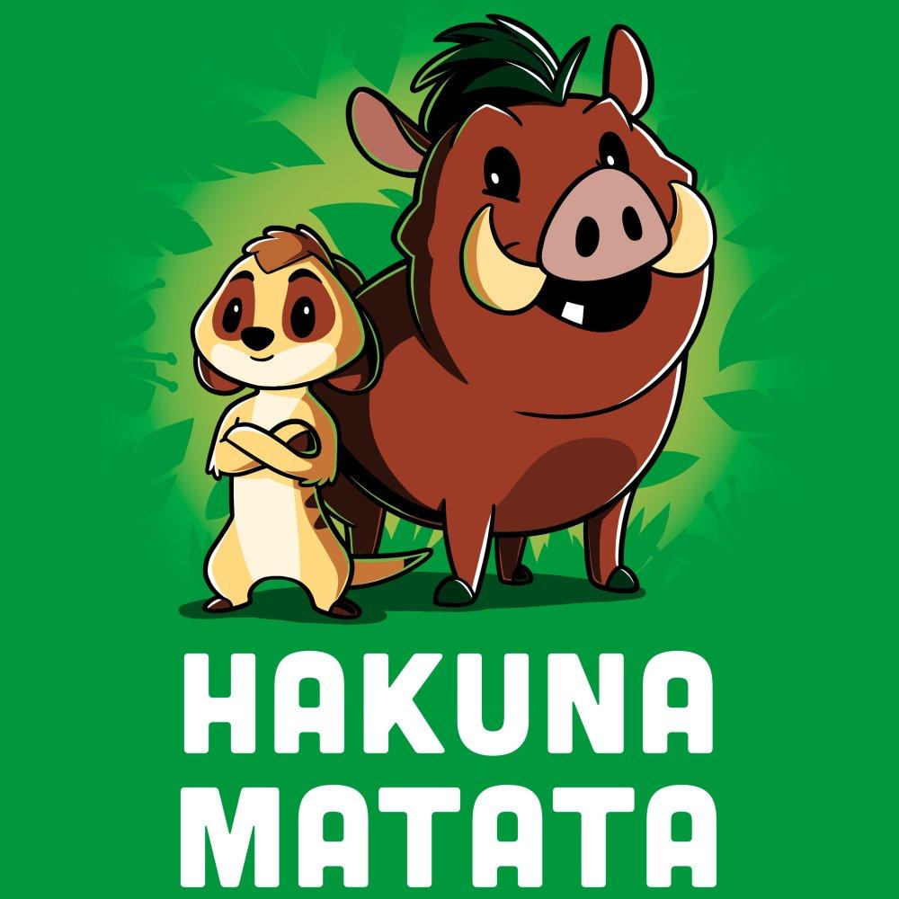 c9bad2e4 Timon and Pumbaa Hakuna Matata | Official Disney Tee - TeeTurtle