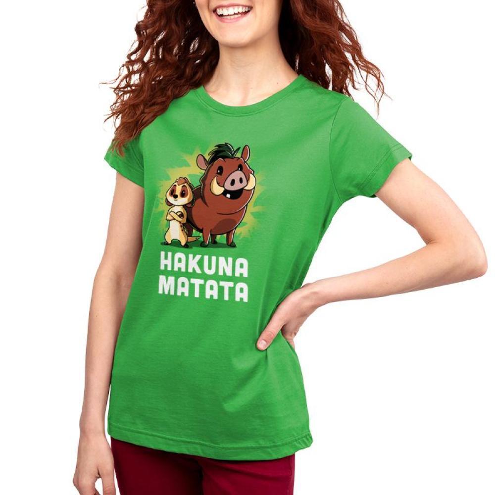 Hakuna Matata Women's T-Shirt Model Disney TeeTurtle