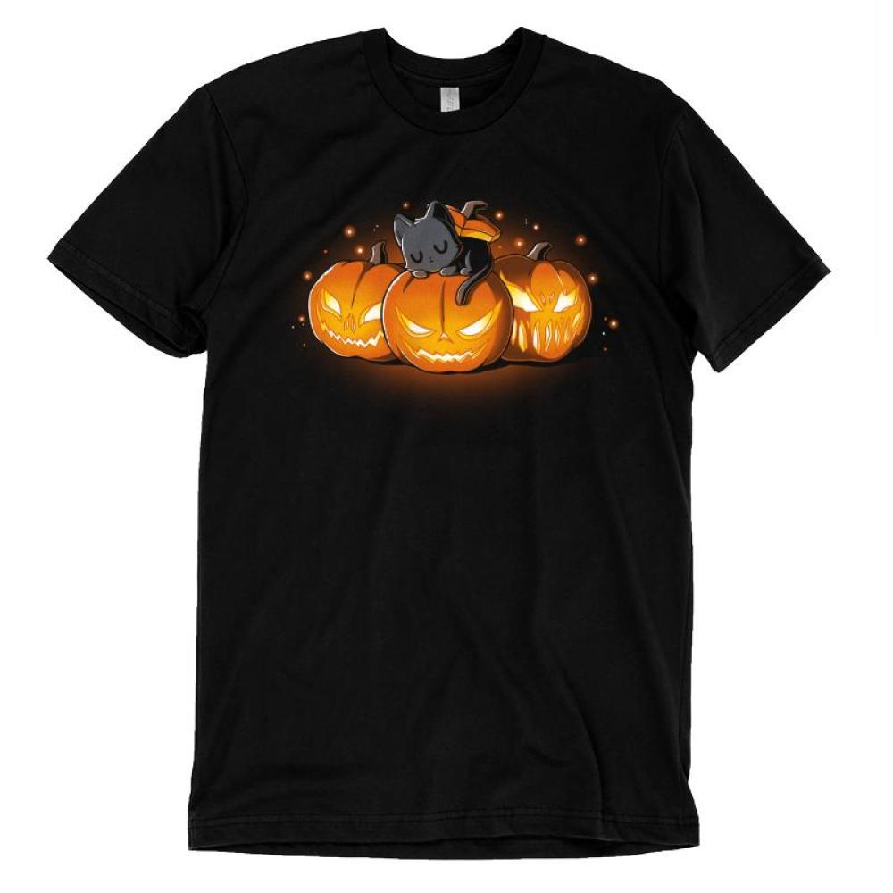Halloween Kitty T-Shirt TeeTurtle