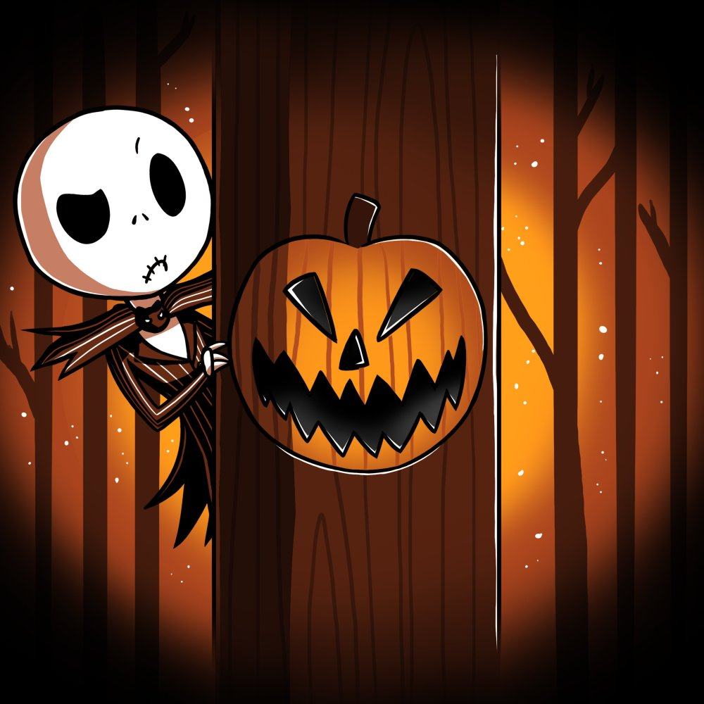Jack Skellington Halloween Town T,Shirt