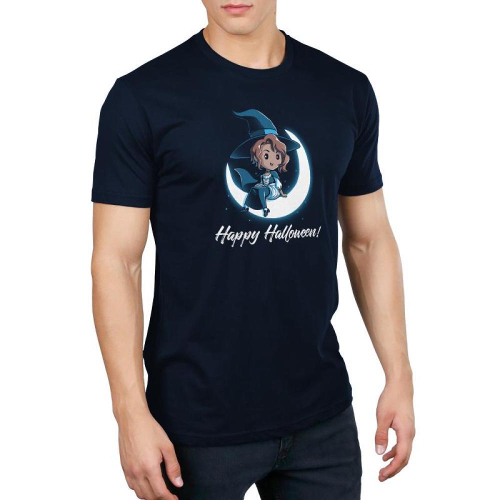 Happy Halloween! Men's T-Shirt Model TeeTurtle