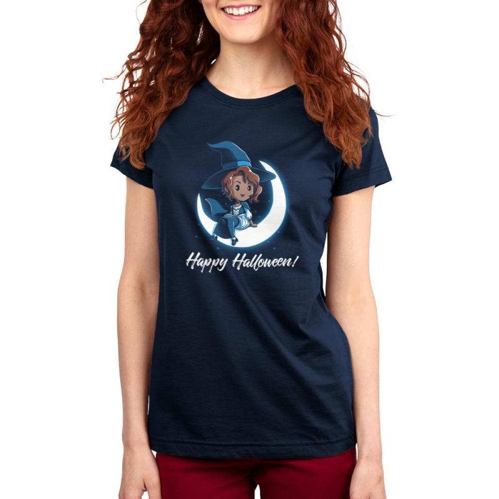 Happy Halloween! Women's T-Shirt Model TeeTurtle