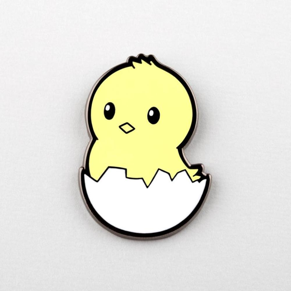 Hatching Chick Pin TeeTurtle