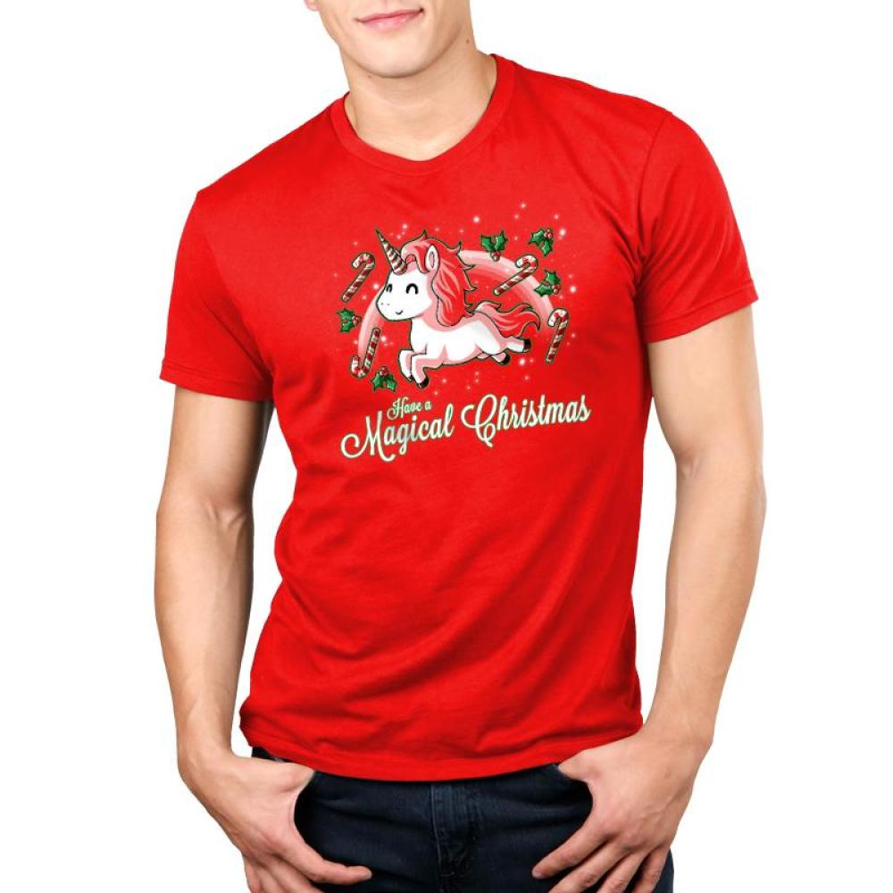 Have a Magical Christmas Standard T-Shirt Model TeeTurtle