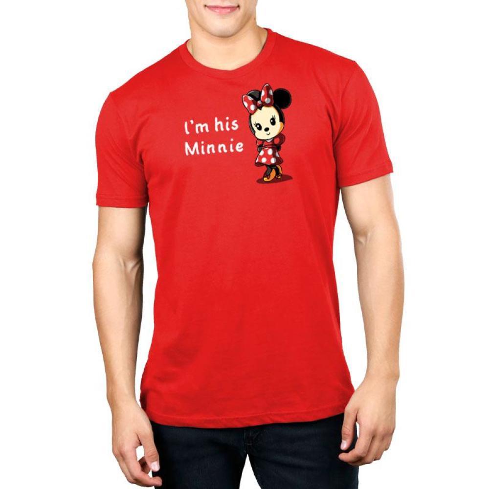 His Minnie Standard T-Shirt Model Disney TeeTurtle