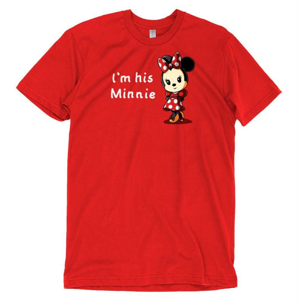 His Minnie T-Shirt Disney TeeTurtle