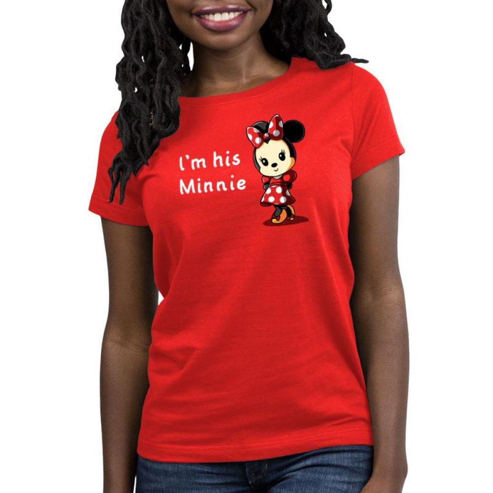 His Minnie Women's Relaxed Fit T-Shirt Model Disney TeeTurtle