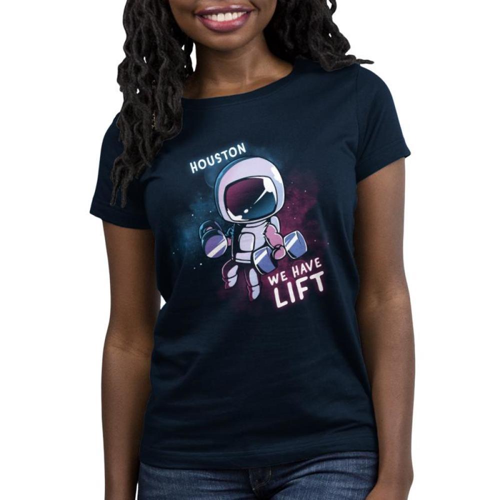 Houston, We Have Lift Women's T-Shirt Model TeeTurtle