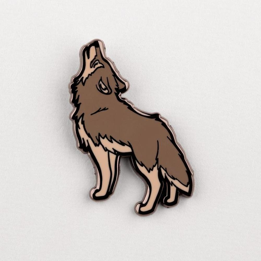 Howl at the Moon Charm Pin TeeTurtle