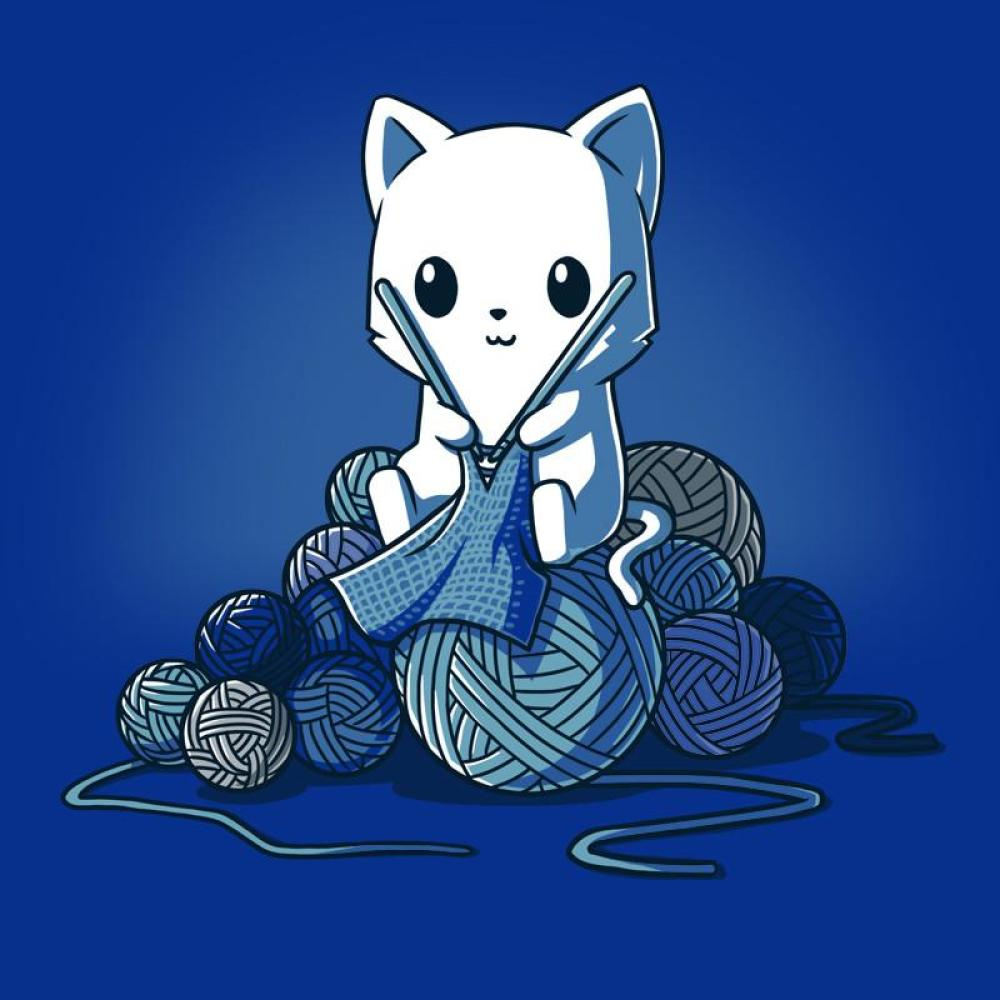 I <3 Knitting t-shirt TeeTurtle