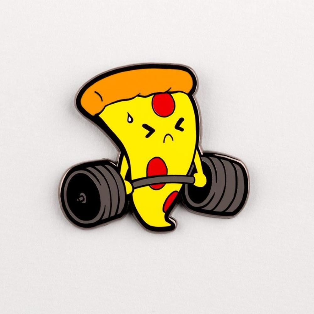 I Do It For the Pizza Pin TeeTurtle