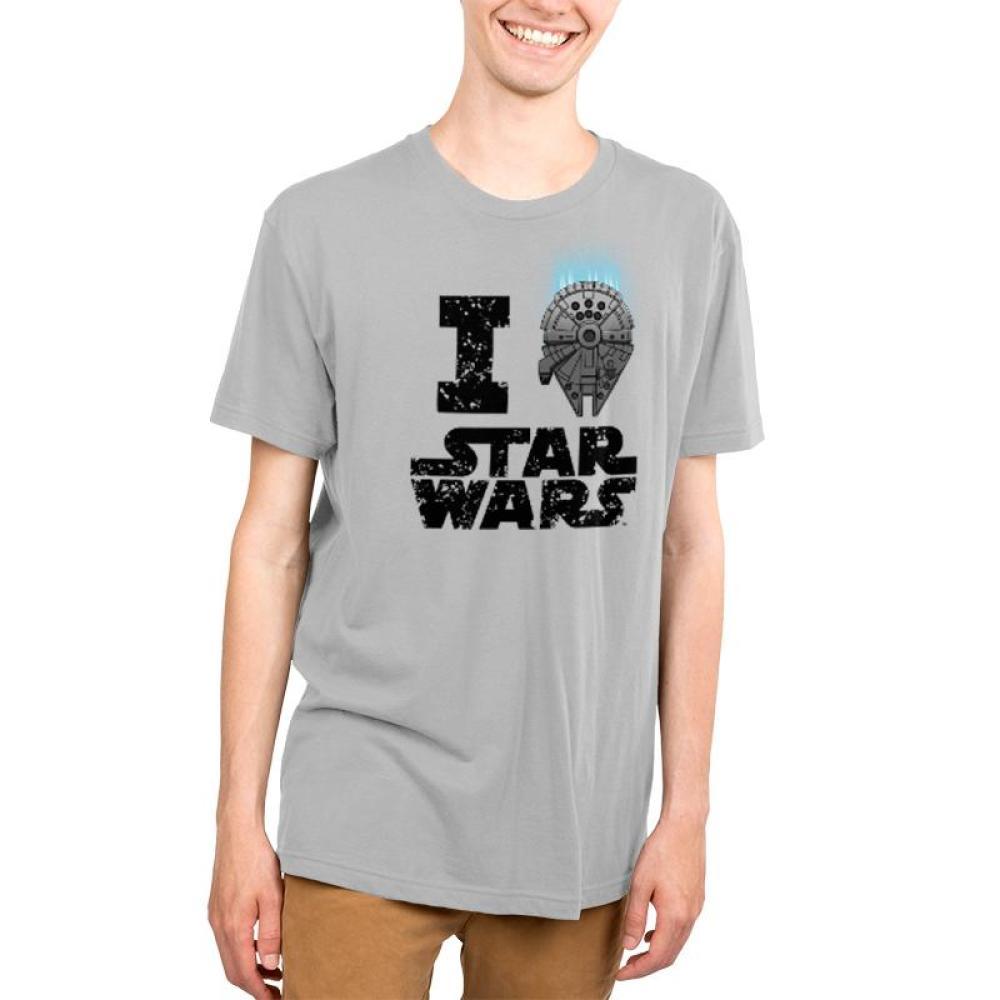 I Heart Star Wars Men's T-Shirt Model Star Wars TeeTurtle