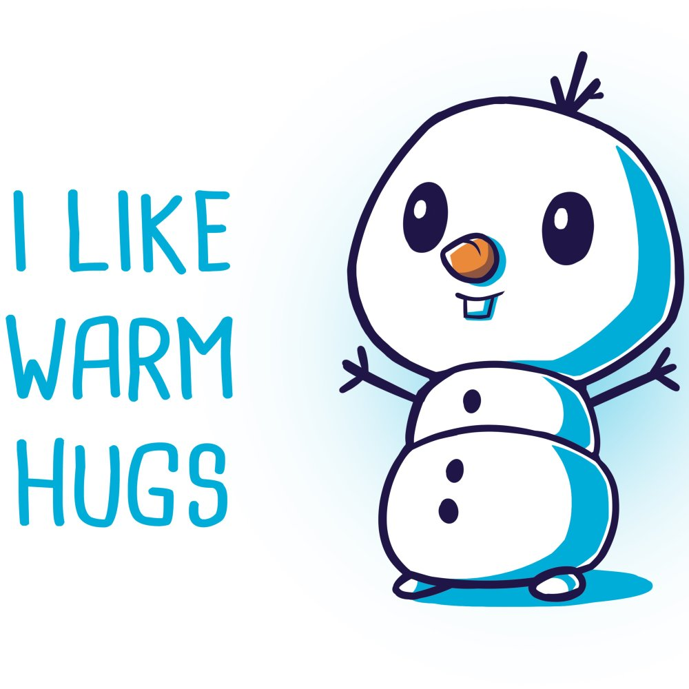 I Like Warm Hugs T-Shirt Disney TeeTurtle