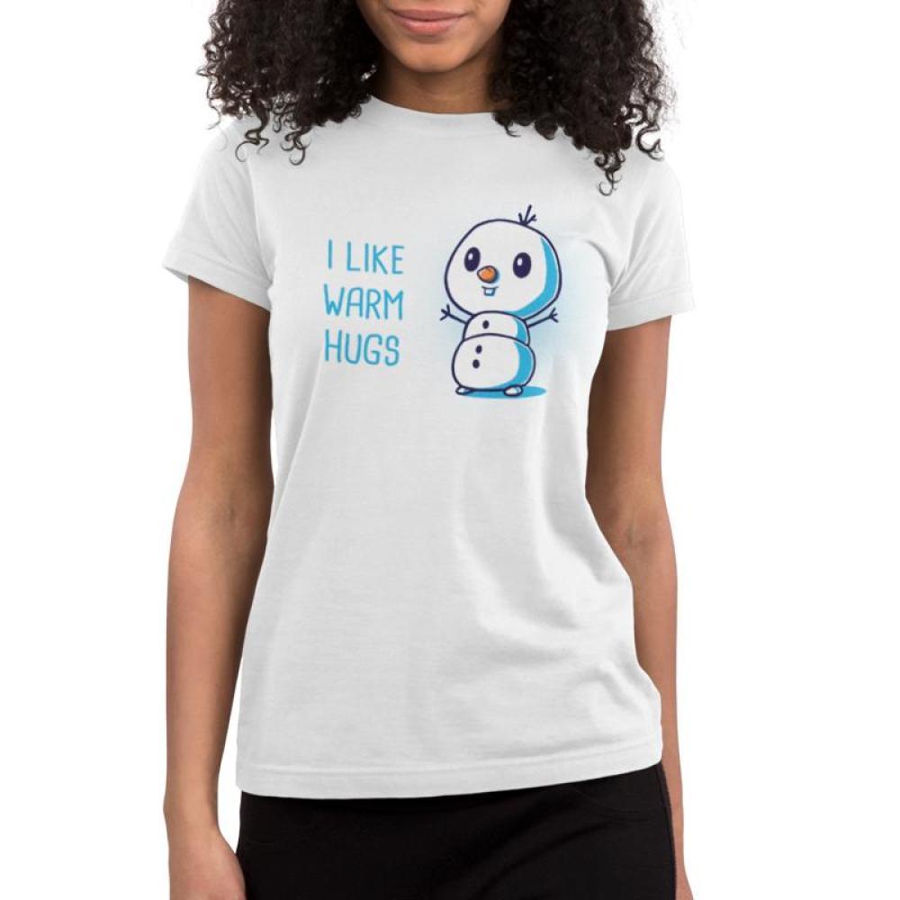 I Like Warm Hugs Juniors T-Shirt Model Disney TeeTurtle
