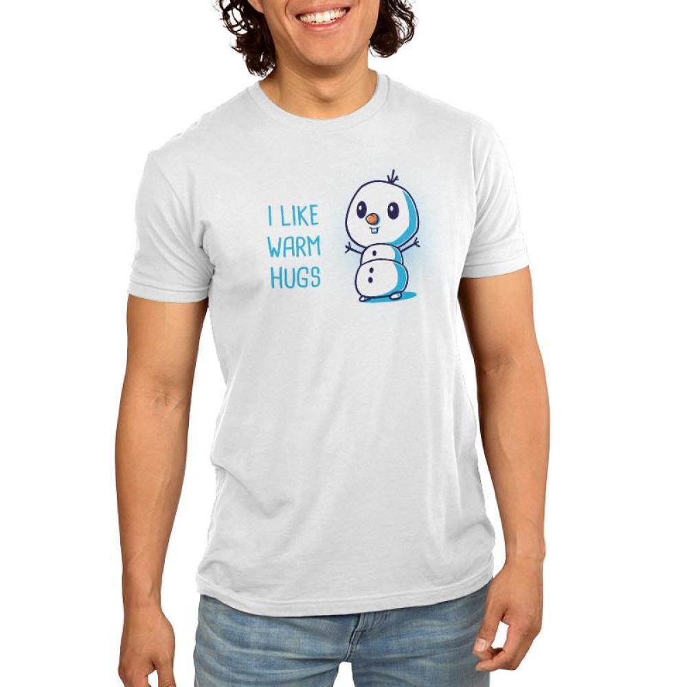 I Like Warm Hugs Men's T-Shirt Model Disney TeeTurtle