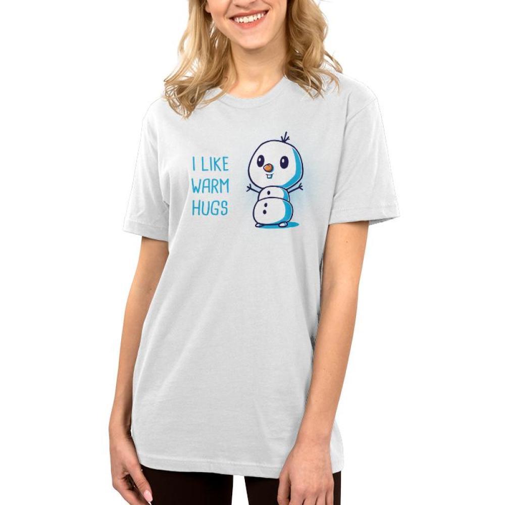 I Like Warm Hugs Women's T-Shirt Model Disney TeeTurtle